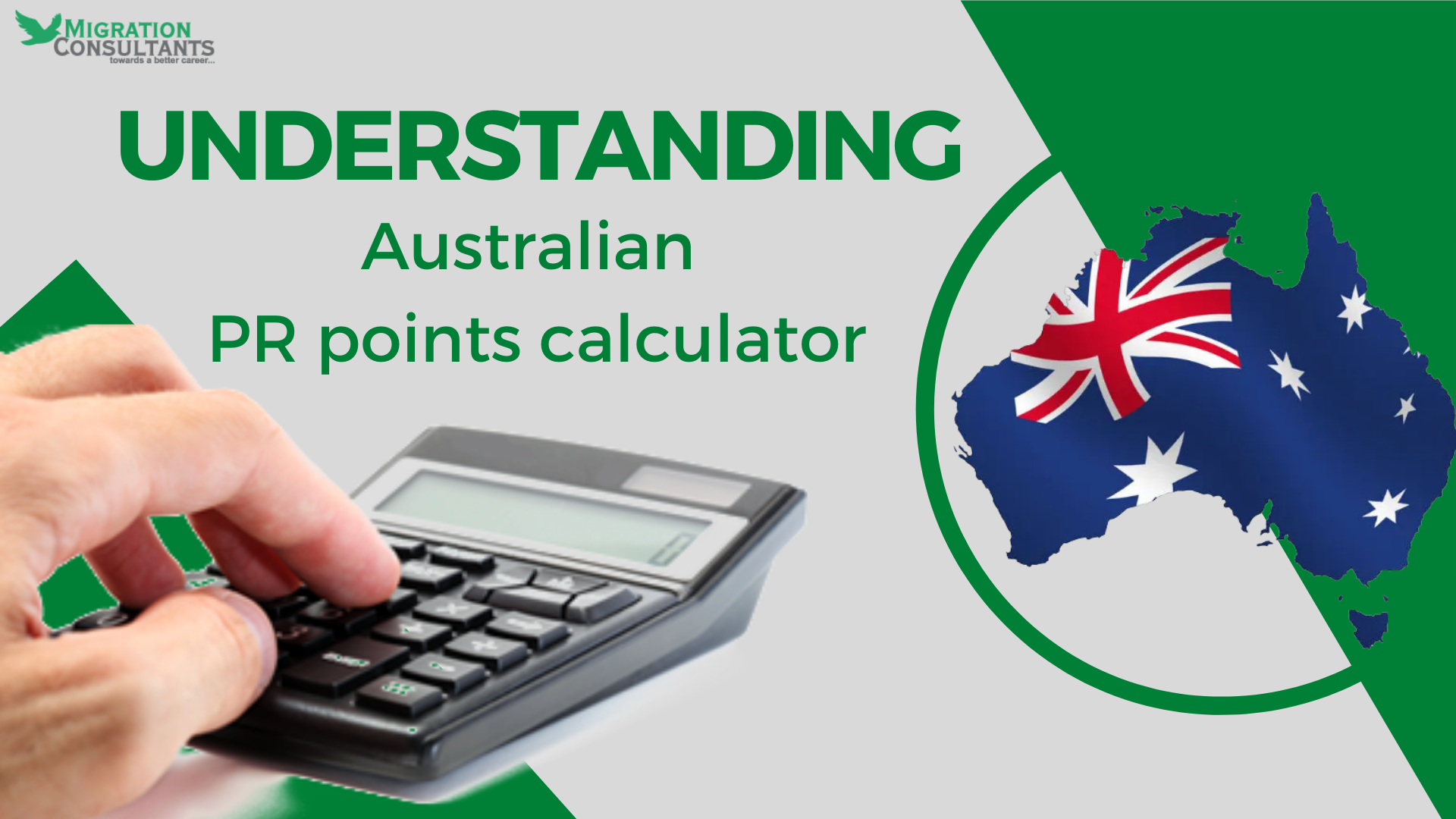 How does the Australian PR points calculator work?