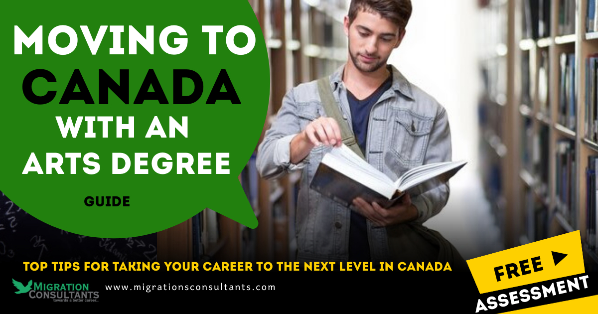 Settling in Canada with an Art Degree