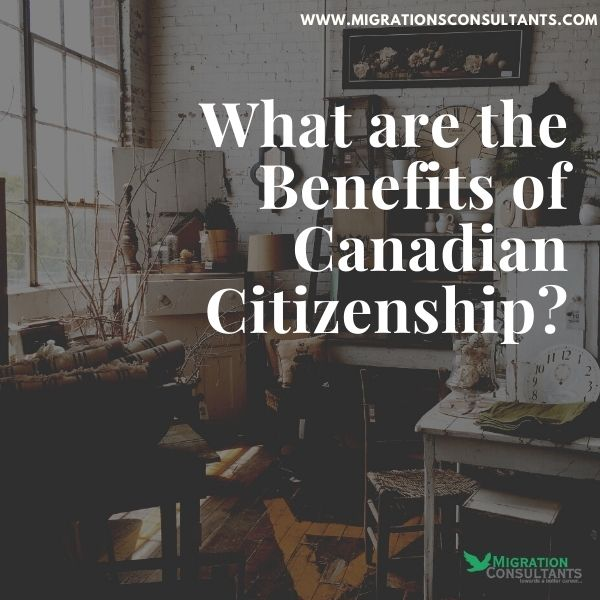 What Perks will you enjoy after Acquiring Citizenship in Canada?