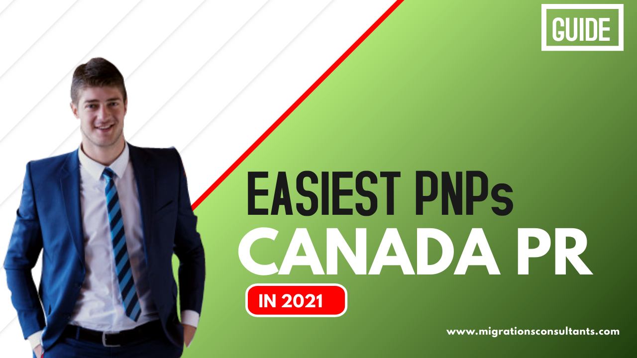The easiest PNPs to Apply for Canada PR from Dubai