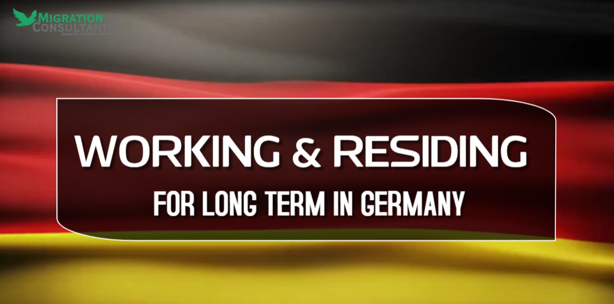 Working and Residing for a Long Term in Germany